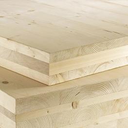case in legno sistema x-lam